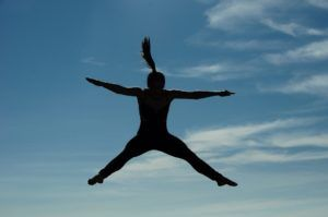 Jumping after giving birth without urine leakage!
