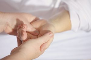 Osteopathy physiotherapy treatment: myo facial release