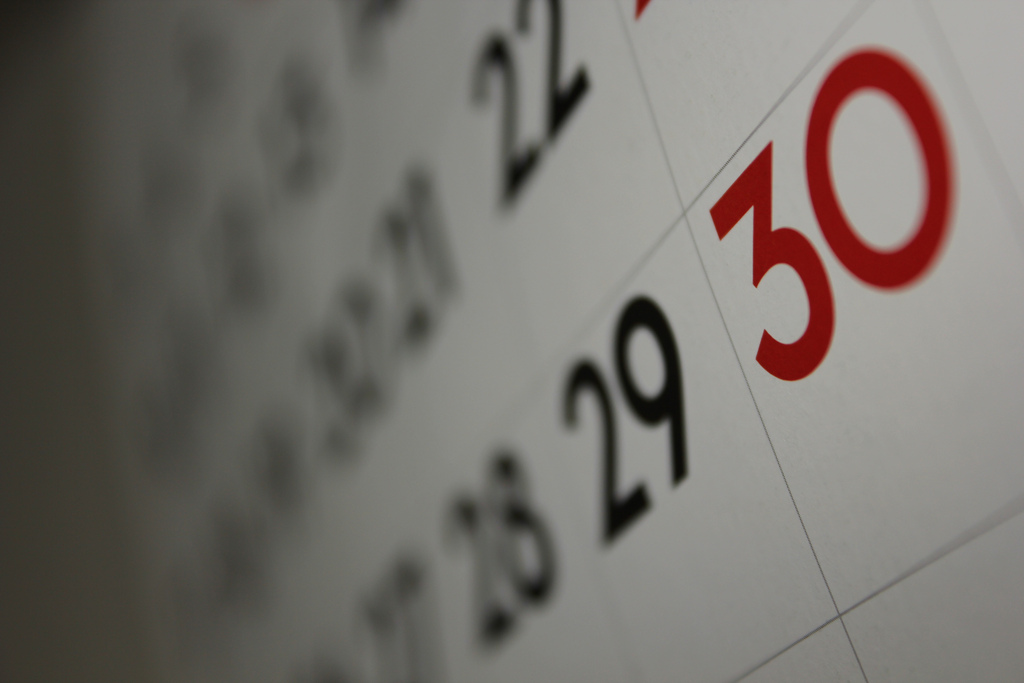 Le calendrier mictionnel (ou calendrier pipi !)