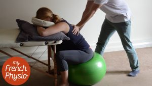 Back massage in pregnancy