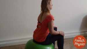 Pelvis mobility exercise for post pregnancy pain