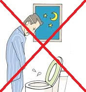 avoid urinate at night