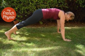Plank good abdominal exercise