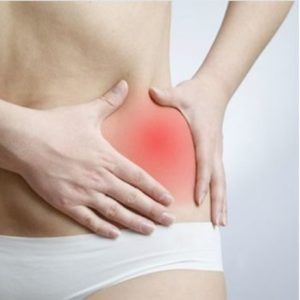women pelvic pain, pain at the hips